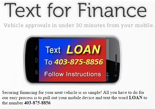 Text for Auto Loan